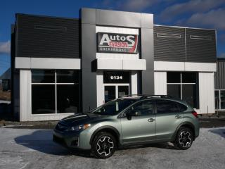Used 2017 Subaru XV Crosstrek Limited + BAS KILO + CUIR + GPS + CAMÉRA + TOIT for sale in Sherbrooke, QC