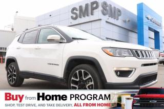 Used 2019 Jeep Compass Limited - Leather, Panoramic Sunroof, Navigation, Remote Start for sale in Saskatoon, SK