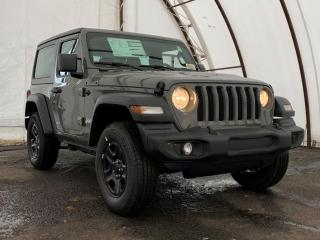 New 2021 Jeep Wrangler Sport SPORT 4X4 for sale in Ottawa, ON