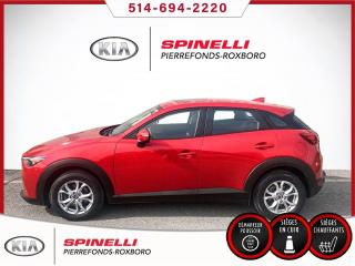 Used 2016 Mazda CX-3 GS CUIR GPS TOIT CUIR GPS TOIT for sale in Montréal, QC