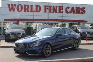 Used 2020 Mercedes-Benz AMG C 63 S | LOW Mileage | *Accident Free* | 500 HP for sale in Etobicoke, ON