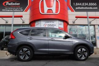 Used 2015 Honda CR-V Touring for sale in Sudbury, ON