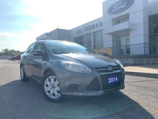 Used 2014 Ford Focus SE Auto/Heated Seats/Bluetooth for sale in St Thomas, ON