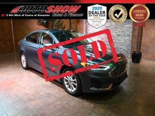 Used 2019 Ford Fusion Hybrid SEL Hybrid - S.Roof, Nav & Htd Lthr!  $18800 with finance!!!! for sale in Winnipeg, MB