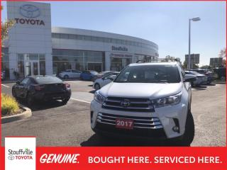 Used 2017 Toyota Highlander Limited LIMITED - 2 SETS OF TIRES - PREMIUM NAVIGATION - HEATED STEERING WHEEL for sale in Stouffville, ON