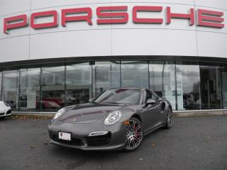 Used 2014 Porsche 911 Turbo Coupe PDK for sale in Langley City, BC