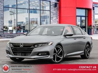 New 2020 Honda Accord Sport 1.5T for sale in Huntsville, ON
