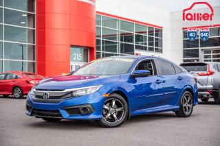 Used 2017 Honda Civic EX 02835A   BLEU for sale in Terrebonne, QC