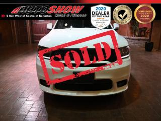 Used 2020 Dodge Durango GT +  Nav, Htd Lthr, DVD x2, S.Roof! AS NEW for sale in Winnipeg, MB