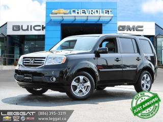 Used 2013 Honda Pilot EX-L CLEAN HISTORY! | 8 PASSENGER! for sale in Burlington, ON