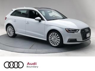 Used 2017 Audi A3 e-tron e-tron 1.4T Tecknik FWD 6sp S tronic for sale in Burnaby, BC