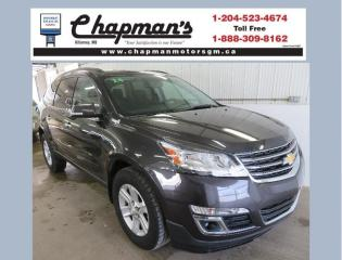 Used 2014 Chevrolet Traverse 1LT Remote Start, 7 Passenger Seating, Rear Vision Camera for sale in Killarney, MB