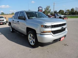 Used 2018 Chevrolet Silverado 1500 Custom 5.3L 4X4 Only 33000 km's for sale in Gorrie, ON