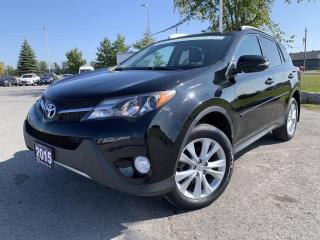 Used 2015 Toyota RAV4 LIMITED AWD for sale in Carleton Place, ON