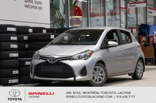 Used 2015 Toyota Yaris Hatchback LE AUCUN ACCIDENT! FREINS NEUF AVANT for sale in Lachine, QC