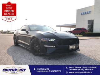 Used 2018 Ford Mustang GT Premium|Leather|HTD&Cooled seats|Navi|Remote st for sale in Leamington, ON