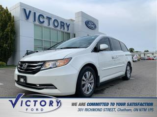 Used 2014 Honda Odyssey EX-L, LEATHER|MOONROOF|DVD for sale in Chatham, ON