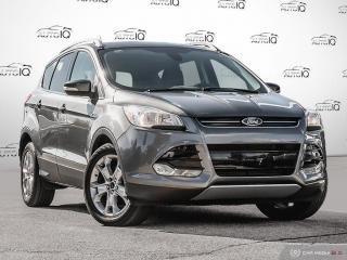 Used 2014 Ford Escape Titanium 2.0L ECOBOOST | VOICE ACTIVATED NAVIGATION | LEATHER for sale in Oakville, ON