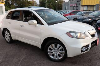 Used 2011 Acura RDX TECH PACK/ NAVI/ CAM/ LEATHER/ SUNROOF/ ALLOYS ++ for sale in Scarborough, ON
