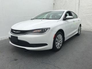 Used 2016 Chrysler 200 4dr Sdn LX FWD *Cruise Control**LOW KMS* for sale in Brandon, MB