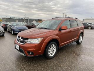 Used 2014 Dodge Journey FWD 4dr SXT *DVD* *7-Passenger* *NAV* for sale in Brandon, MB