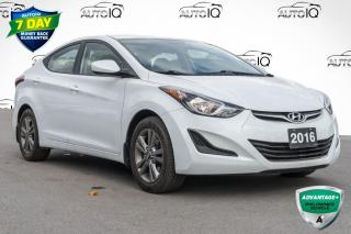 Used 2016 Hyundai Elantra VERY CLEAN LOW MILEAGE CAR for sale in Innisfil, ON