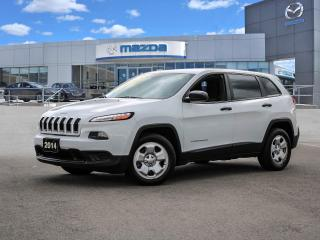 Used 2014 Jeep Cherokee Sport Includes Winter Tires on Rims!! for sale in Hamilton, ON
