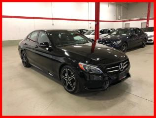 Used 2017 Mercedes-Benz C-Class C300 4MATIC PREMIUM PKG NIGHT PKG LED for sale in Vaughan, ON