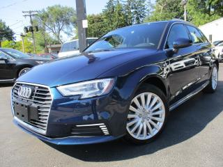 Used 2018 Audi A3 Sportback e-tron E-TRON PREMIUM 1.4 HYBRID|PLUG IN|ONE OWNER|3KMS for sale in Burlington, ON
