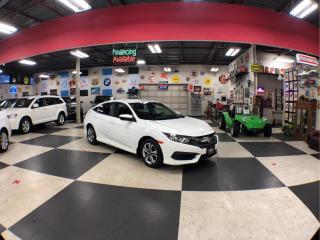 Used 2016 Honda Civic Sedan LX AUT0 A/C CRUSIE BLUETOOTH BACKUP CAMERA 64K for sale in North York, ON