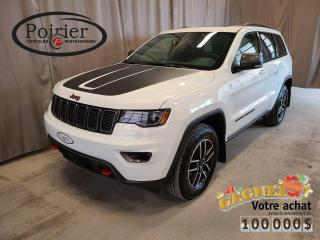 Used 2020 Jeep Grand Cherokee Trailhawk Trail Rated for sale in Rouyn-Noranda, QC