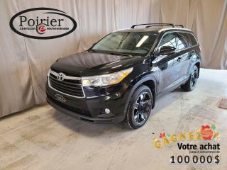 Used 2014 Toyota Highlander XLE NAVIGATION for sale in Rouyn-Noranda, QC