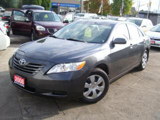 Used 2008 Toyota Camry LE,AUTO,A/C,CERTIFIED,LOW KM'S,NO ACCIDENT,AUX for sale in Kitchener, ON