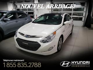 Used 2013 Hyundai Sonata Hybrid HYBRID LIMITED + GARANTIE + TOIT PANO + for sale in Drummondville, QC