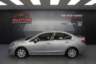 Used 2016 Subaru Impreza AWD 2.0i MANUEL BLUETOOTH CAMERA 78 825 KM !! for sale in Lévis, QC
