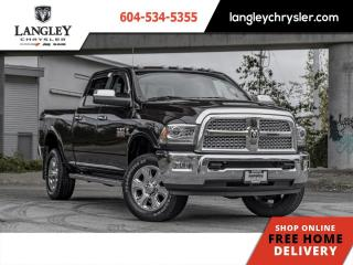 Used 2017 RAM 3500 Laramie  Single Owner / Loaded / Navi / Sunroof for sale in Surrey, BC