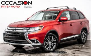 Used 2017 Mitsubishi Outlander ES AWD. CAM.RECUL+SIEGES.CHAUFFANTS+MAGS for sale in Boisbriand, QC
