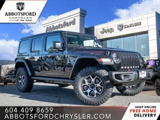 New 2021 Jeep Wrangler Rubicon Unlimited  - Leather Seats - $404 B/W for sale in Abbotsford, BC
