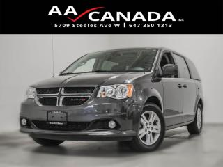 Used 2018 Dodge Grand Caravan Crew Plus for sale in North York, ON