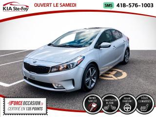 Used 2017 Kia Forte * SX* CUIR* SIEGES CHAUFFANTS* CAMERA DE for sale in Québec, QC