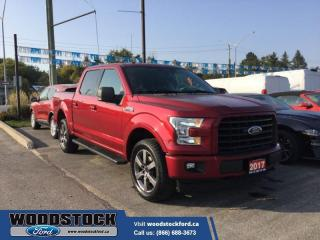 Used 2017 Ford F-150 XLT  Nice 302A XLT SPORT 5.0L WITH 20's and Navigation for sale in Woodstock, ON