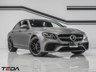 Used 2018 Mercedes-Benz E-Class AMG E 63 S for sale in North York, ON