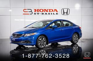 Used 2015 Honda Civic EX + TOIT + AUTO + MAGS + WOW! for sale in St-Basile-le-Grand, QC