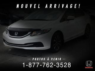 Used 2015 Honda Civic EX + AUTO + TOIT + A/C + MAGS + WOW! for sale in St-Basile-le-Grand, QC