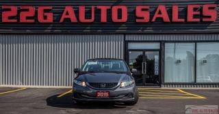 Used 2015 Honda Civic EX|ACCIDENT FREE|BACKUP CAM|SUNROOF|BLUETOOTH for sale in Brampton, ON
