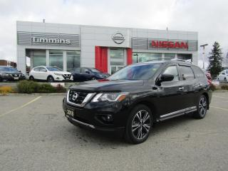 Used 2018 Nissan Pathfinder Platinum for sale in Timmins, ON
