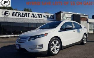 Used 2014 Chevrolet Volt HYBRID/ SAVE $$ ON GAS!! for sale in Barrie, ON