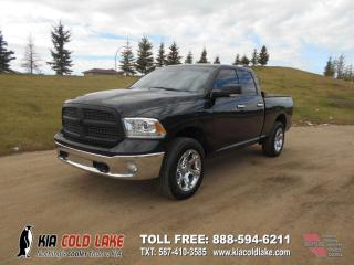 Used 2017 RAM 1500 Laramie 4x4 Quad Cab 140.0 in. WB for sale in Cold Lake, AB