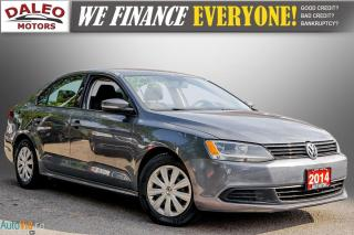 Used 2014 Volkswagen Jetta TRENDLINE + /  HEATED SEATS / BUCKET SEATS / for sale in Hamilton, ON