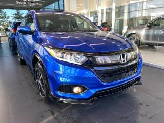 Used 2019 Honda HR-V SPORT AWD, ACCIDENT FREE, POWER HEATED LEATHER SEATS, SUNROOF, DRIVING SAFETY TECH for sale in Edmonton, AB